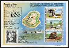 Nauru   1980   Scott # 216a    Mint Never Hinged Souvenir Sheet