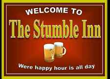 Personalised Pub sign, Home Bar, homebrew, Funny drinking sign Free Postage