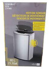 EKO Sensible Eco Living 80L Hands-Free Motion Sensor Large Waste Bin/Trash