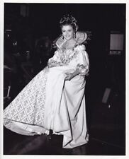 ANGELA LANSBURY Walter Plunkett Costume Vintage CANDID THREE MUSKETEER MGM Photo