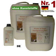 Klinker + Ziegel Imprägnierung Schiefer 0,5 ?100 Liter Fassaden Dachziegel Stein