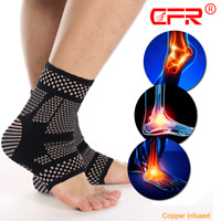 Ankle Support Brace Compression Sleeve Foot Pain Relief Plantar Fasciitis Socks