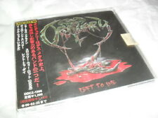 Obituary -Left To Die- Hard To Find First Press Cd Single Made In Japan Mint