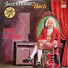 ++ANDRE BENICHOU jazz guitar BACH 2LP'S 1975 RARE VG++