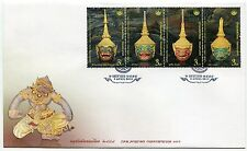 THAILAND STAMP 2015 THAI HERITAGE CONSERVATION DAY FDC