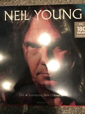 NEIL YOUNG Live At Superdome New Orleans 1994  180 G VINYL LP - NEW & SEALED