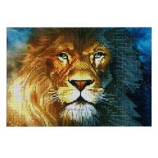 Full Drill Lion DIY 5D Diamond Painting Embroidery Craft Cross Stitch Home Decor