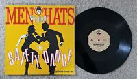 MEN WITHOUT HATS THE SAFETY DANCE - OZ BIG TIME RECORDS 12 INCH EXTENDED MIX 45