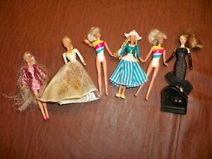 Vintage Barbie Dolls Mattel Made for McDonalds  Lot of 6 Dolls  1995-96-99
