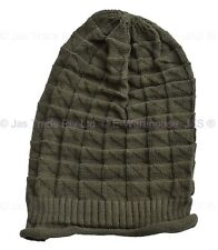d123abcd392 1 Knit Knitted Unisex Ladies Men Cap Winter Baggie Baggy Rasta Beanie Hat  CHECK