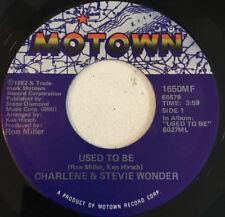 Charlene & Stevie Wonder – Used To Be (7″, Single)