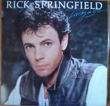 RICK SPRINGFIELD LP Spain 1983 Living in Oz