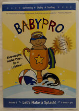 Baby Pro - Lets Make a Splash (DVD, 2005) 9 Months - 4 Years - Mint!