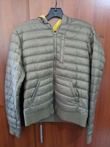 Mens Uniqlo x Undercover uu Puffer Jacket Olive green s small Hooded Coat