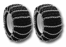 Pair of Snow Mud Tire Chains 2-link 20X8X8 20X8.00-8