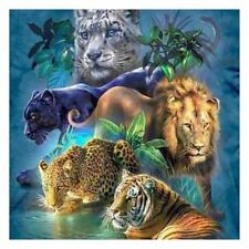 5D DIY Tier Tiger Diamant Malerei Stickerei Diamond Painting Kreuzstich Handwerk