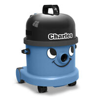 Numatic Charles CVC370-2 Vacuum Cleaner Hoover Wet & Dry 3 in 1 Blue A21A Kit UK