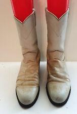 Women's Size 6 B Justin L3713 Pearl Western Cowboy Roper Boots