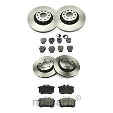 4x Brake Discs + Brake Pads Front Ø323 + Rear Ø269 Audi A8 4D2 4D8 2.5-4.2