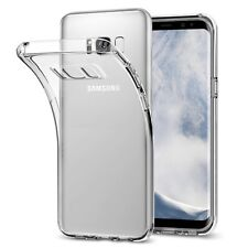 (2 Pack) For Samsung Galaxy S8 Case Clear Silicone Slim Gel Cover