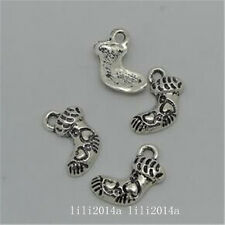 20pc Tibetan Silver Christmas stocking Pendant Charms Beads Accessories  PL1116