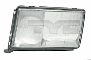 TYC Headlight Lens Left For MERCEDES A124 C124 S124 W124 8200866