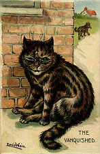 Louis Wain Cat. The Vanquished.