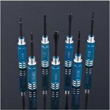 Hex 7pcs screw driver tool kit For RC helicopter Car BK screwdriver blue color