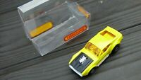 Vintage 1972 Matchbox Superfast No 44 Boss Mustang Yellow Muscle Diecast Car Toy