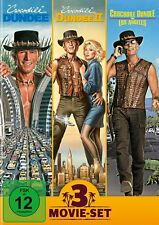 Crocodile Dundee 1+2+3 (in Los Angeles) / 3-Movie-Set # 3-DVD-BOX-NEU
