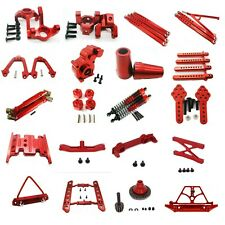 Aluminum CNC metal Upgrade DIY parts Red Fit For AXIAL SCX10 ELECTRIC 4WD Rc Car