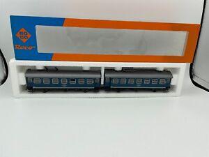 Roco HO Scale Double Passenger Cars - 44007