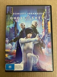 GHOST IN THE SHELL - SCARLETT JOHANSSON - DVD - R4 - FREE POST