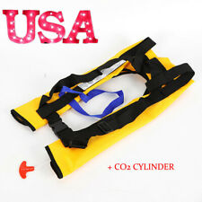 Adult Automatic Inflatable Life Jacket Vest Survival Sailing Boating Floatation