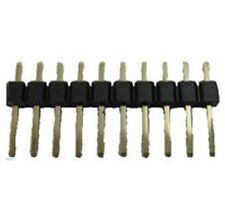 Una sola fila Pcb Pin Header Conector 10 forma (paquete De 5)