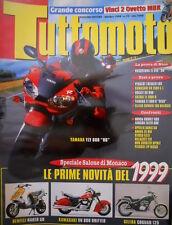 TuttoMoto 10 1998 Poster Suzuki TL-R. Gilera Coguar 125. Benelli Naked 50