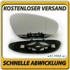 spiegelglas für PORSCHE 911 98-04 rechts asphärisch beheizbar beifahrerseite