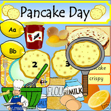 PANCAKE DAY Teaching Resource CD Shrove Tuesday Role play Resources KS1 EYFS  cd