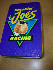 Empty Tin Container Smokin' Joe's Racing Camel Powered Advertising