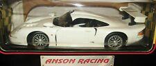 Anson Racing White Porsche 911 GT 1 1/18 Scale Diecast White Car #30329W