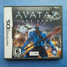 JAMES CAMERON'S AVATAR NINTENDO DS 2009 BOX AND GAME TESTED ACTUAL PICTURES