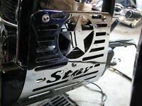 2003 Yamaha V-Star XVS 650 XVS650 Silverado Front Frame Engine Star Guard