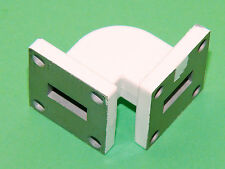 WR42 90° Waveguide 18 to 26,5GHz Band 24GHz IL0,04dB SWR1,07 USA