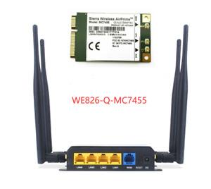 ZBT WE826-Q-MC7455 CAT6 300Mbps LTE WiFi Router   WE826-Q   MC7455