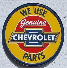 Genuine Chevrolet Parts USA Teile Händler Klassik Metall Schild