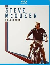 Steve McQueen Collection (Blu-ray Disc, 2014, 4-Disc Set, Canadian)
