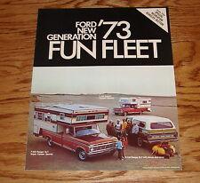 Original 1973 Ford Truck Fun Fleet Sales Brochure 73 Ranger F-100 F-250 F-350