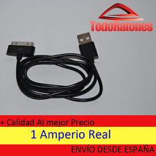 Cargador USB cable datos iphone 4S 4 3GS 3G IPAD 3 2 1 IPOD NANO TOUCH negro