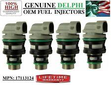 GMC Sonoma -1994-95-96-1997- 2.2L I4/ New x4 Delphi #17113124 OEM Fuel Injectors