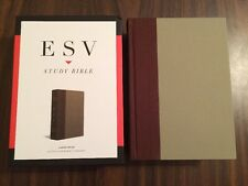 ESV Large Print Study Bible - $89.99 Retail - Cloth over Board (Hardcover)
